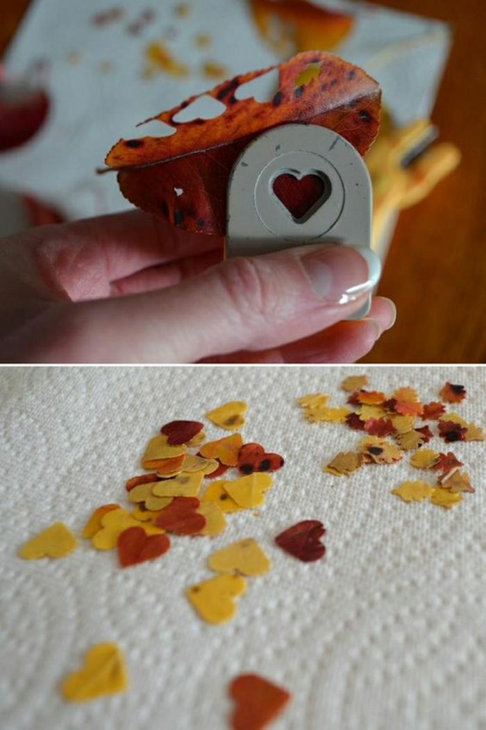 diy-idee-creer-une-deco-de-mariage-par-des-feuilles-oranges-en-automne