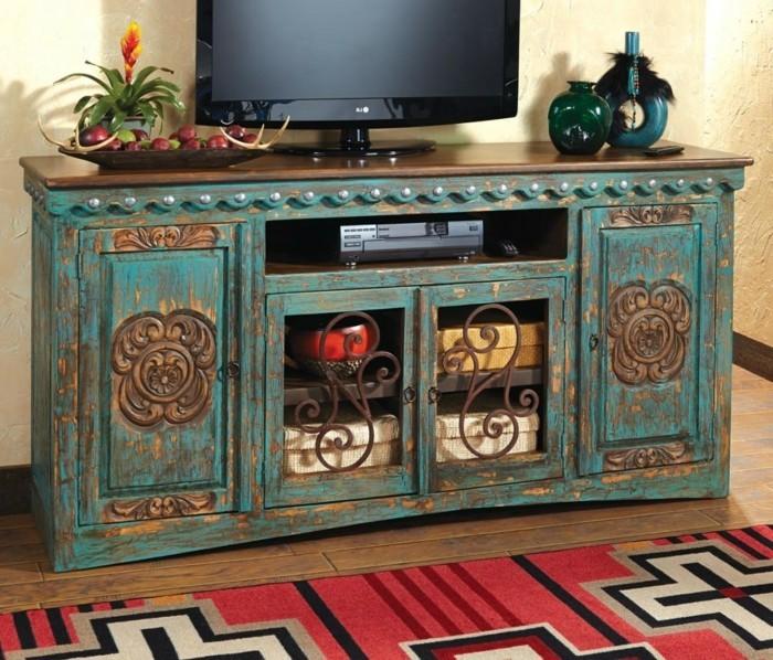 diy-meuble-tv-style-rustique-meuble-tv-design-interessant