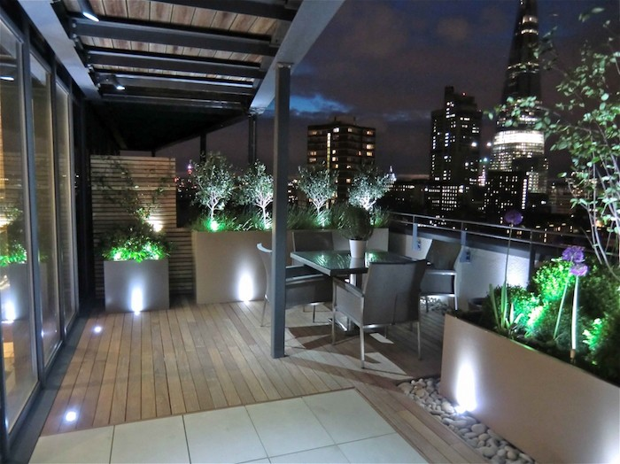 1001 id es clairage terrasse 60 id es et conseils for Lumiere terrasse led