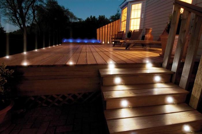 ÉCLAIRAGE Terrasse – 60 idées et conseils pour un éclairage idéal ...