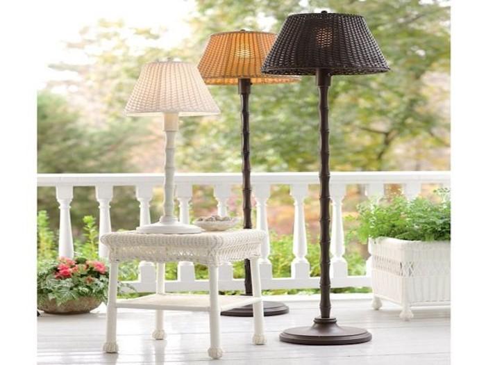Lampadaire exterieur design 42 id es lumineuses for Lampe exterieur pour pergola