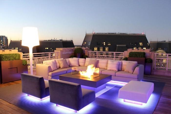 1001 id es clairage terrasse 60 id es et conseils for Eclairage exterieur terrasse design