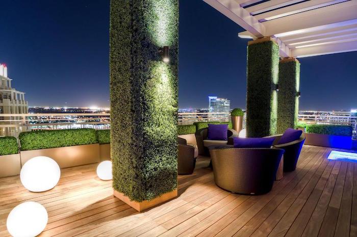 eclairage-terrasse-moderne-boule-lumineuse