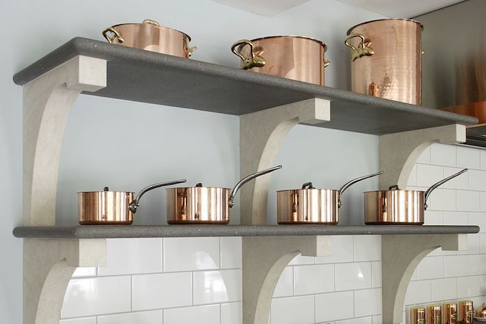 7 etagere cuisine design moderne elegant - Etagere Cuisine Moderne