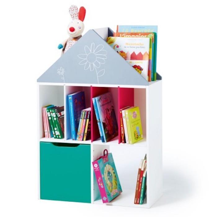 etagere-enfant-bibliothèque-enfant-casier-oxybul