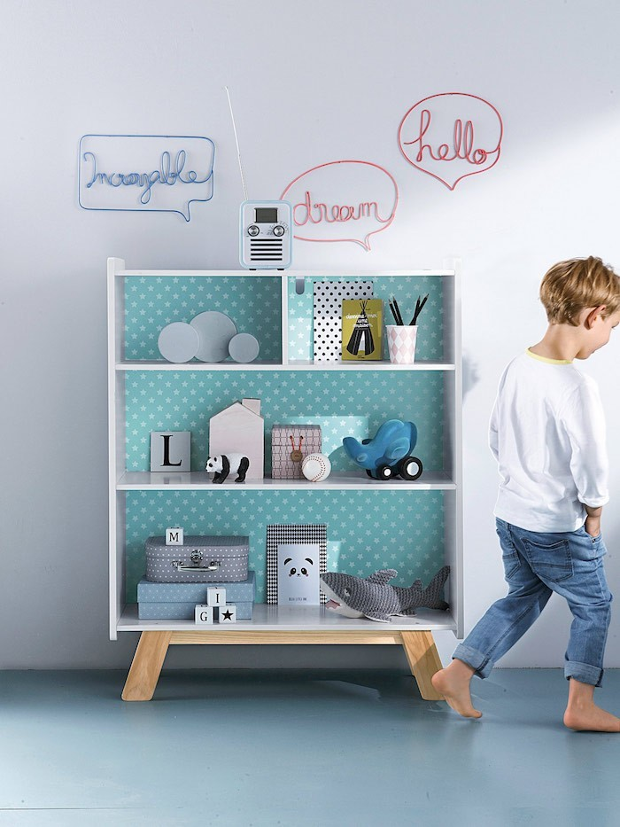 tag re enfant 50 mod les de rangements pour la rentr e. Black Bedroom Furniture Sets. Home Design Ideas