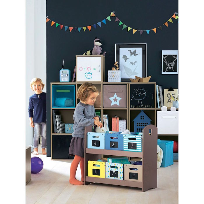 rangement jouet chambre enfant maison design. Black Bedroom Furniture Sets. Home Design Ideas