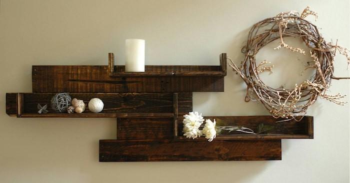 etagere-palette-rustique-fabriquer-meubles-palettes-recyclage-en-bois-bricoler-bricolage-idee-deco-pas-cher-cuisine