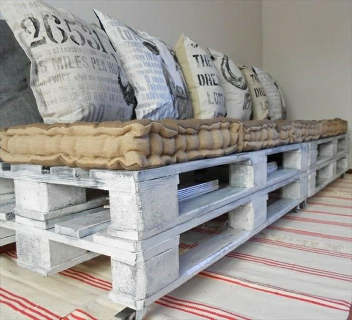 Comment fabriquer un canap en palette tuto et 60 super - Canape pour chambre ado ...