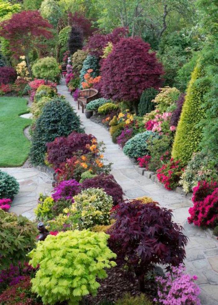 Jardin et gazon anglais optez pour le style so british for Jardin a l anglaise photos