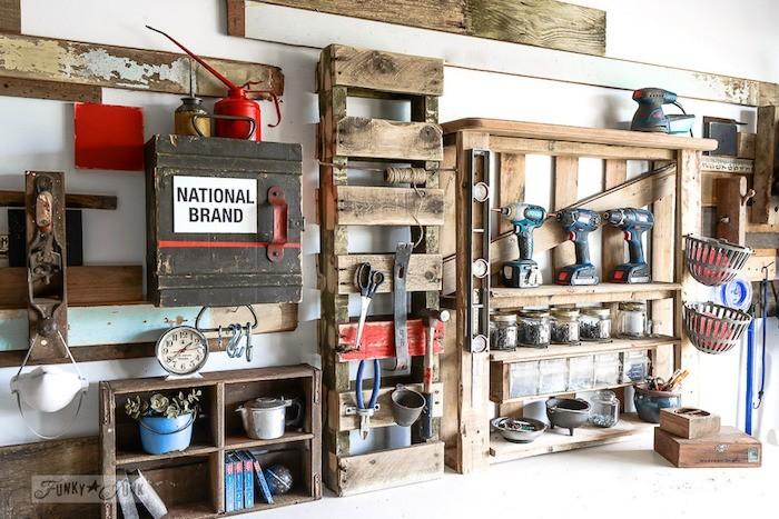 fabriquer-atelier-garage-etagere-palette-meubles-palettes