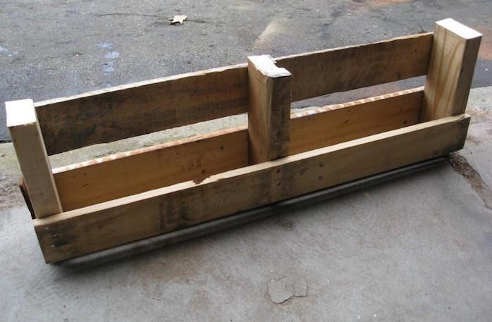 fabriquer etagere palette meubles palettes tutoriels idee astuces - Comment Fabriquer Un Meuble En Palette