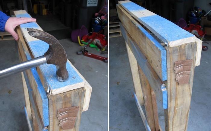Tag re palette 49 id es et un tutoriel pour la fabriquer - Fabriquer meuble palette ...