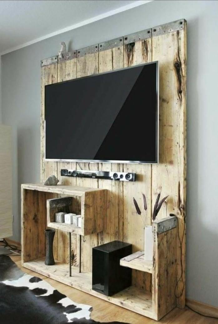 fabriquer-un-meuble-tv-fait-de-bois-brut-meuble-design-interessante