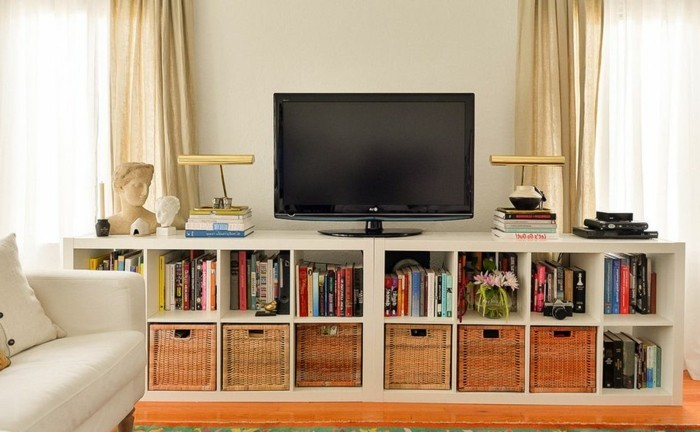meuble tv design diy. Black Bedroom Furniture Sets. Home Design Ideas