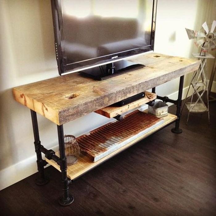 Fabriquer un meuble tv instructions et mod les diy - Meuble tv simple ...