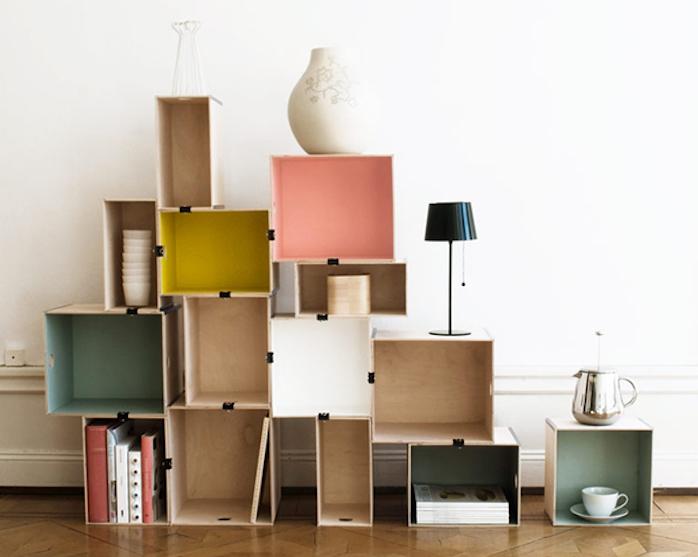 Diy | Recycler Une Caisse En Bois Deco En 40 Idées - Archzine.Fr