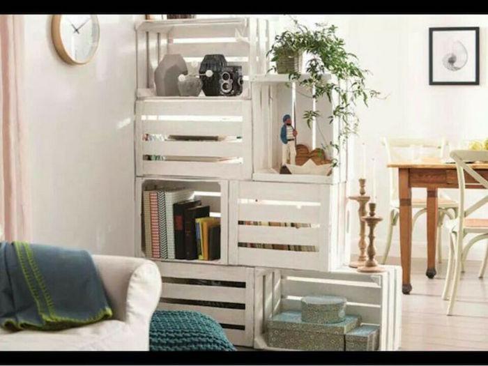 Diy   Recycler Une Caisse En Bois Deco En 40 Idées - Archzine.Fr