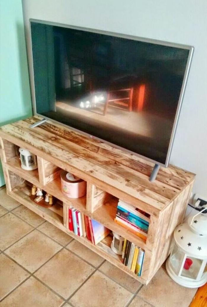 Fabriquer un meuble tv palette - Fabriquer un meuble tv en palette ...