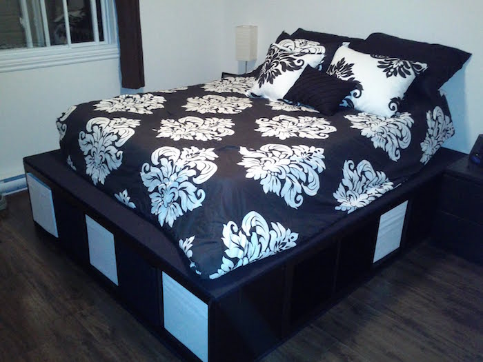 tag re kallax ikea 69 id es originales de l 39 utiliser. Black Bedroom Furniture Sets. Home Design Ideas