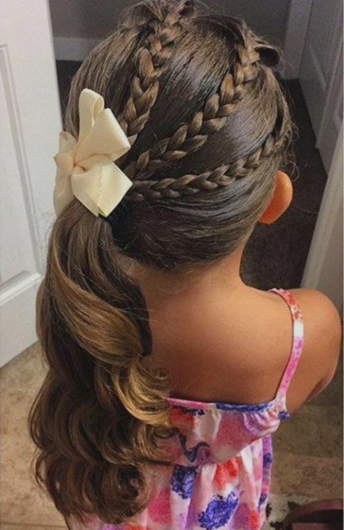 Coiffure mariage fille d honneur finest with coiffure - Coiffure mariage fille d honneur ...