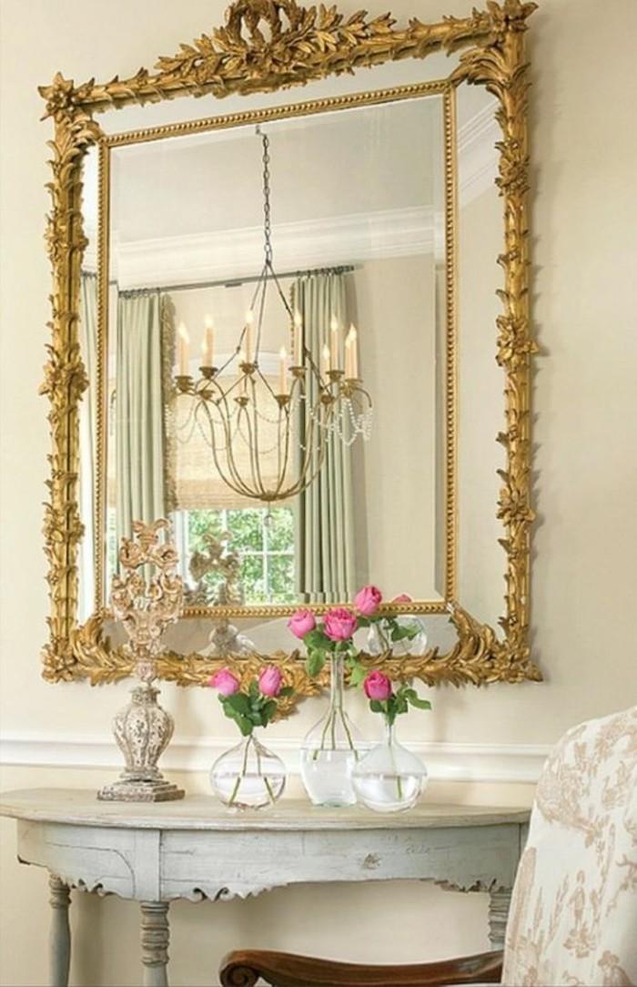 grand-miroir-ancien-cadre-dore-console-shabby