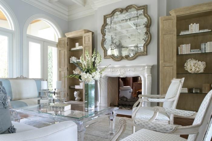 grand-miroir-ancien-miroir-suspendu-antique-table-de-salon-basse