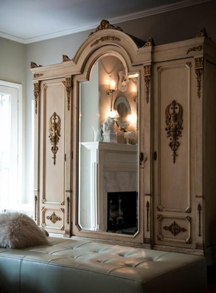 Comment d corer avec le grand miroir ancien id es en photos - Grand miroir rectangulaire design ...