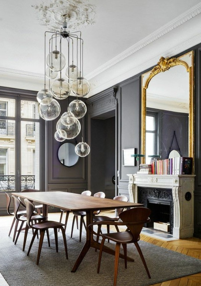grand-miroir-ancien-salle-a-manger-grise-grand-miroir-dore