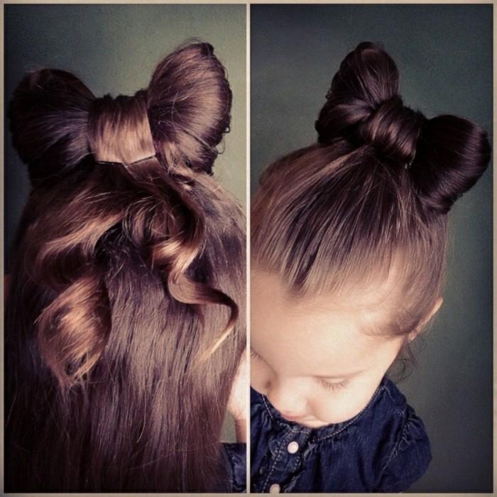 idee-cheveux-arranges-en-noeud-minnie-mouse-suggestion-coiffure-petite-fille-geniale
