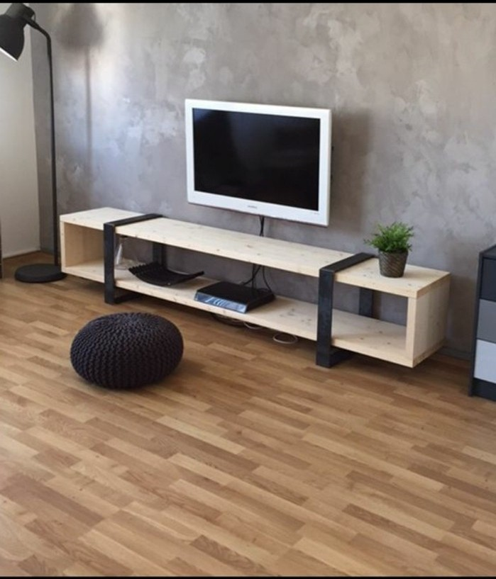 idee-comment-fabriquer-un-meuble-tv-bois-clair