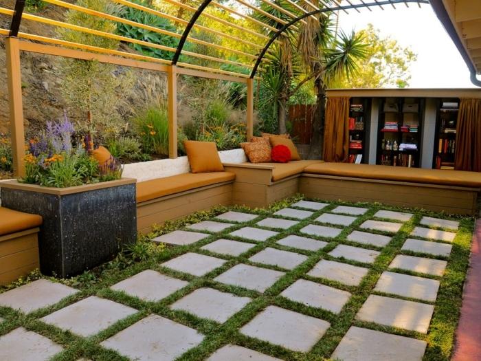 idee-extraordinaire-pour-fabriquer-une-pergola-bois-coin-detente-en-plein-air-pres-de-la-nature