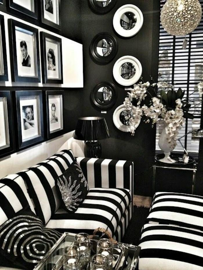 idee peinture pour salon noir blanc 20171005055623. Black Bedroom Furniture Sets. Home Design Ideas