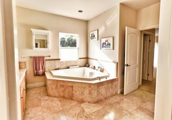 Peinture salle de bain 80 photos qui vont vous faire craquer - Peinture salle de bain etanche ...