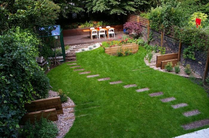 amnagement jardin 105 photos pour votre petit coin de paradis - Idee Amenagement Jardin