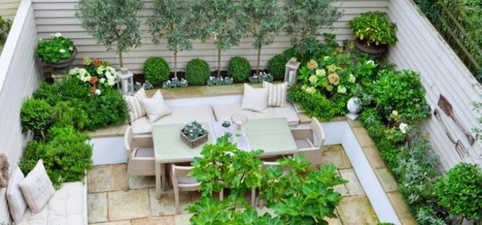 Idee Jardin Terrasse. Cool Pot Deco Terrasse With Idee ...