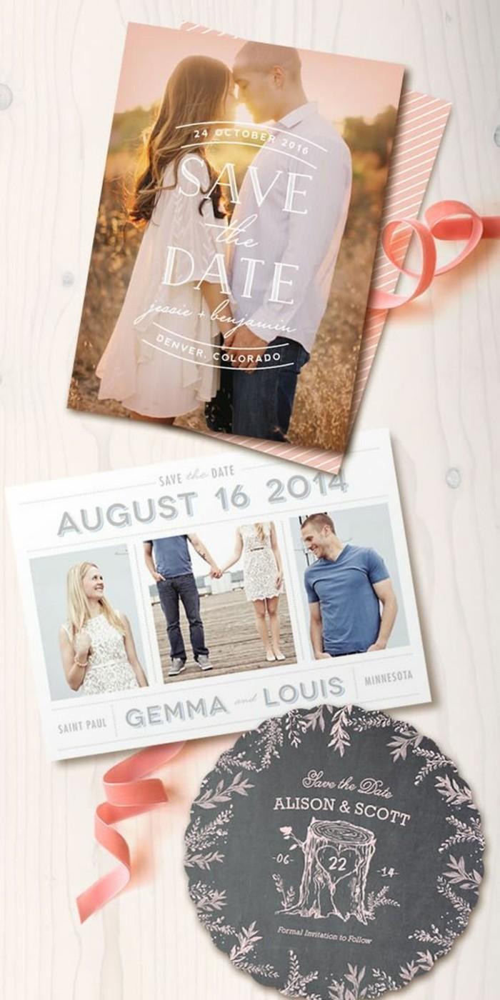 idee-carte-d-invitation-a-faire-soi-meme-avec-photo-et-enveloppe-colore-ruban-rose