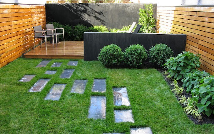 Chemin de jardin perfect chemin paysager with chemin de for Idee chemin jardin