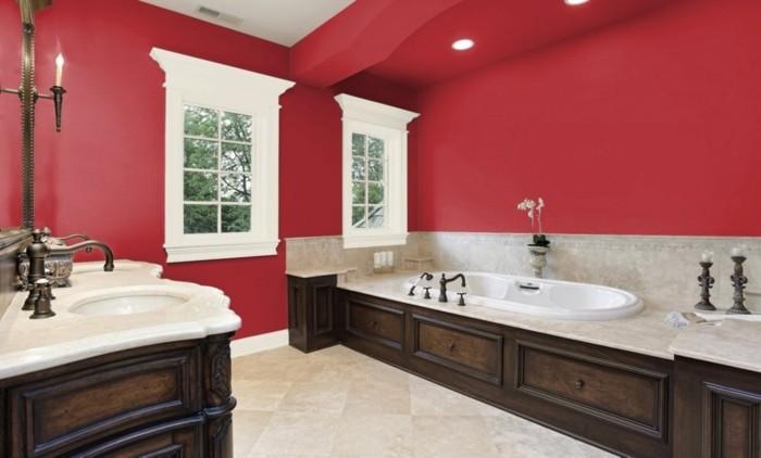 Peinture salle de bain 80 photos qui vont vous faire craquer for Idee couleur peinture salle de bain nancy