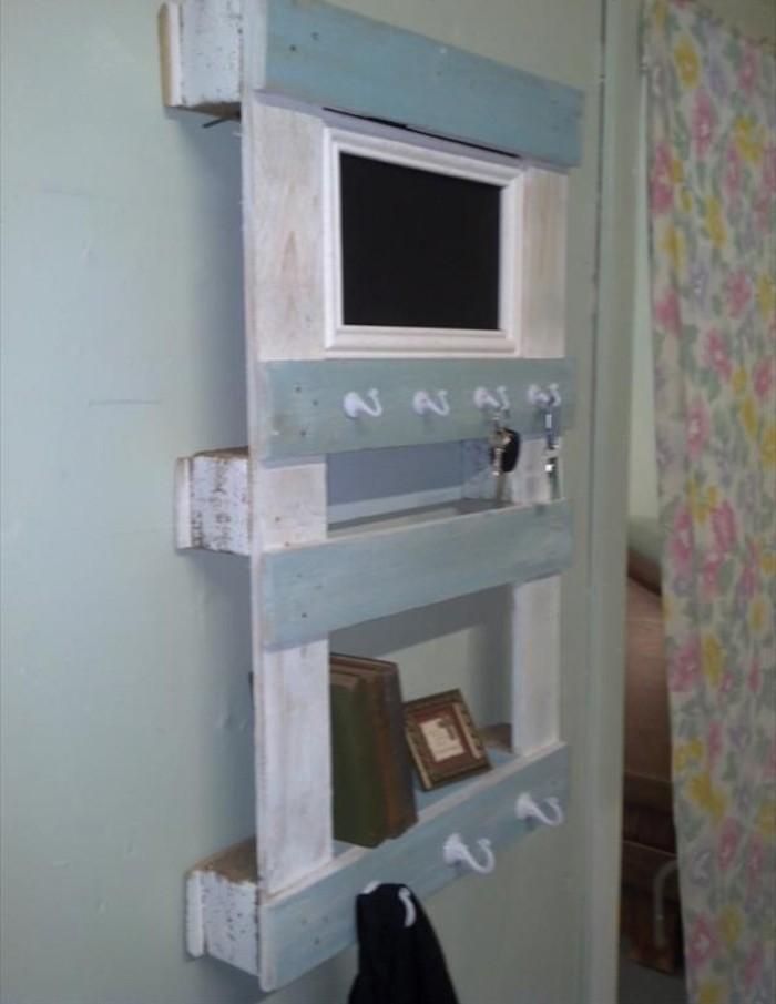 meuble salle de bain en palette tagre palette id es et un tutoriel - Fabriquer Meuble Salle De Bain En Palette