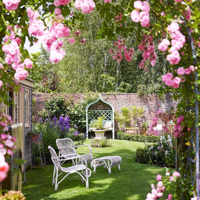 Romantic Garden Design: Optez Pour Le Style So British