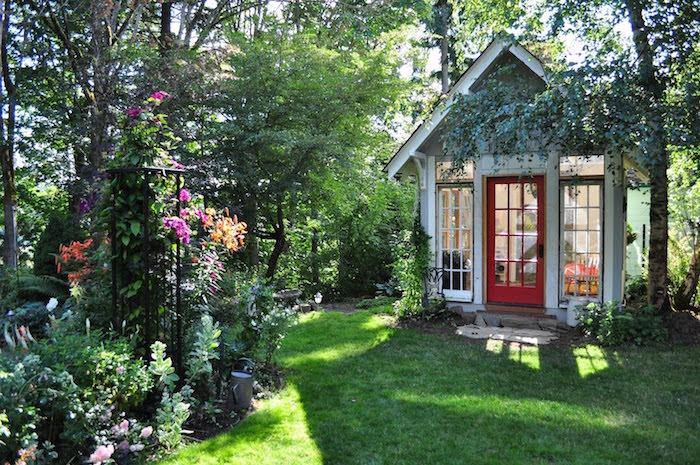 Jardin et gazon anglais optez pour le style so british for Exterieur anglais