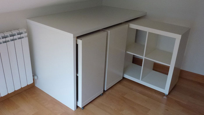 Tag re kallax ikea 69 id es originales de l 39 utiliser for Meuble console ikea