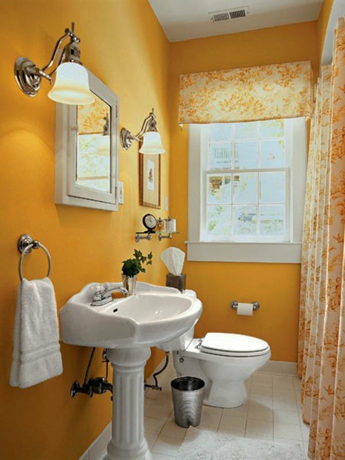 idees-d-amenagement-salle-de-bain-3m2-couleur-orange-style-rustique
