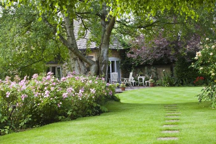 Jardin et gazon anglais optez pour le style so british for Deco jardin anglais