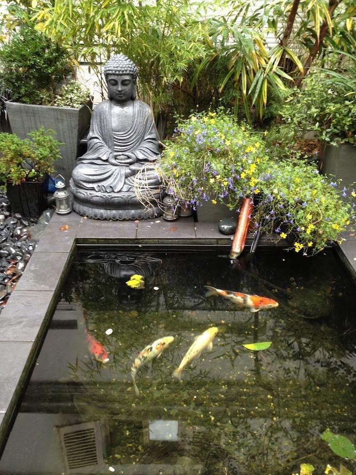 Bassin poisson carpes koi jardin accueil design et mobilier - Mobilier jardin zen besancon ...