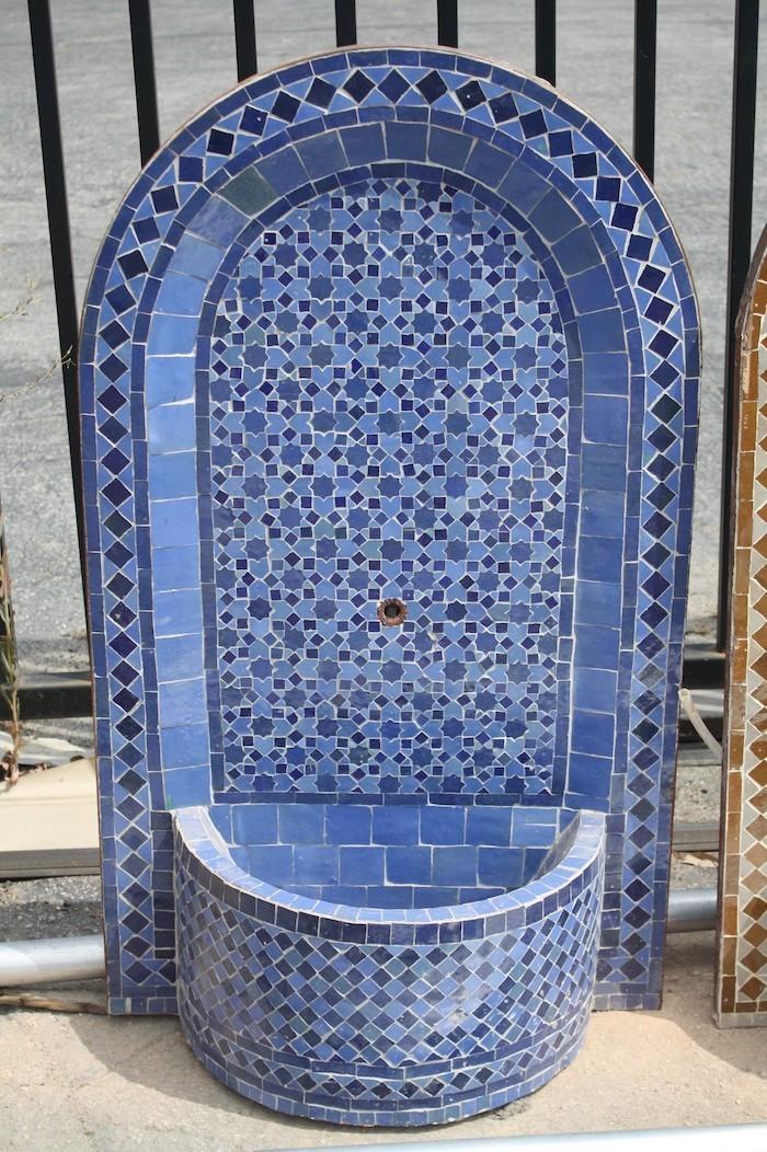 awesome table de jardin mosaique marocaine images. Black Bedroom Furniture Sets. Home Design Ideas