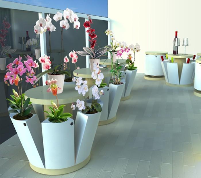 jardini re balcon 50 photos pour choisir la jardini re id ale. Black Bedroom Furniture Sets. Home Design Ideas