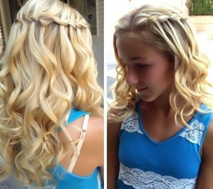 Photo de coiffures pour enfants trГЁs belle