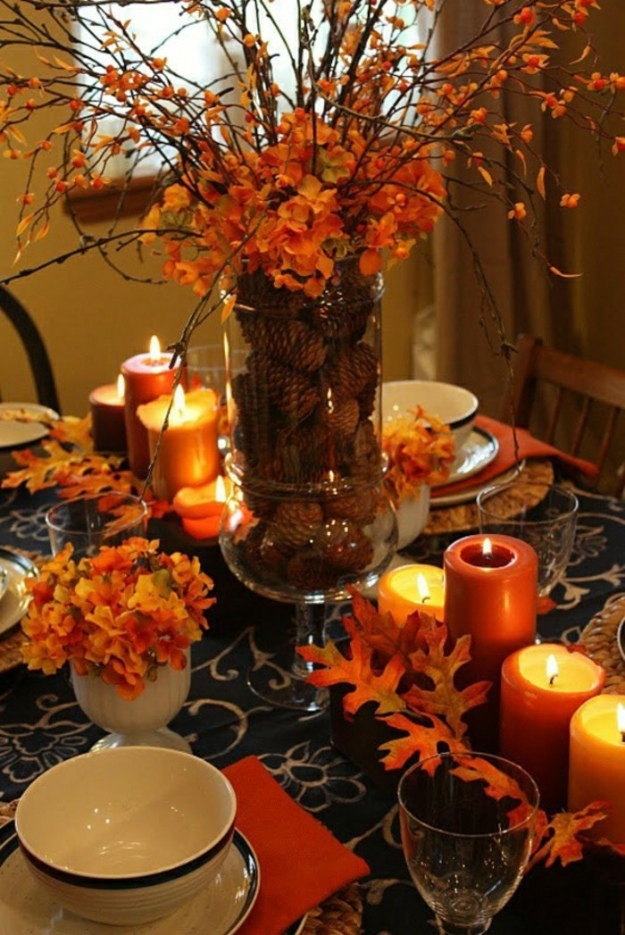 jolie-deco-table-halloween-bricolage-d-automne-activite-manuelle-primaire